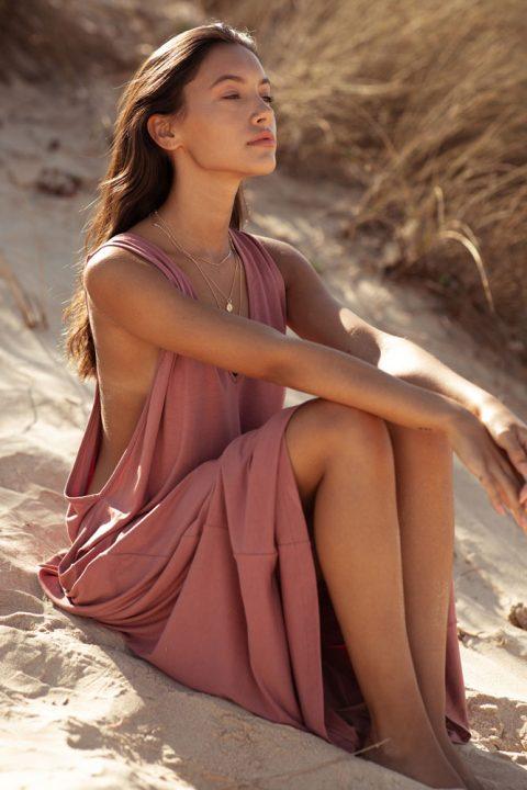 ROSE VALENTINA MAXI DRESS