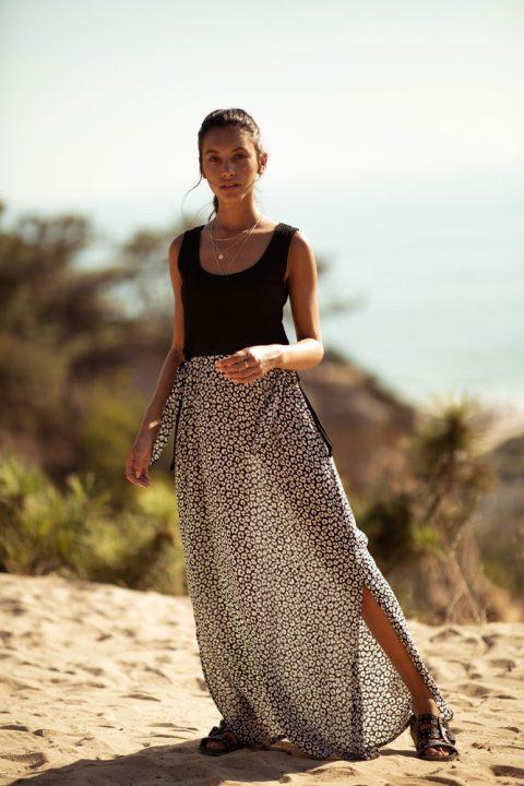 BLACK JUNGLE SARA MAXI DRESS