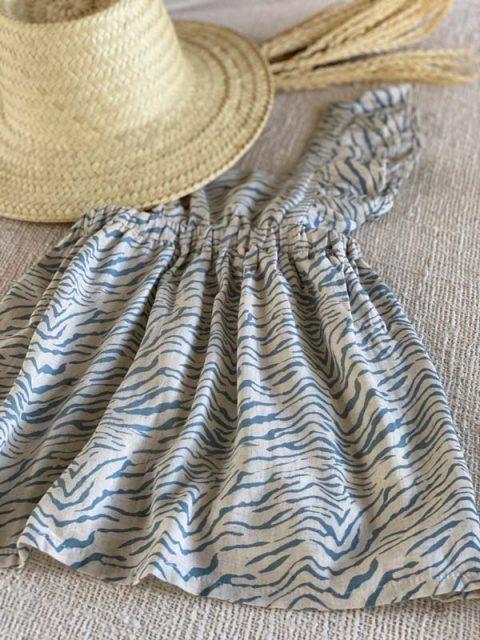 ☆ BLUE TIGER CARMINHO DRESS